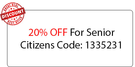 Senior Citizens 20% OFF - Locksmith at Woodridge, IL - Woodridge Illinois Locksmith